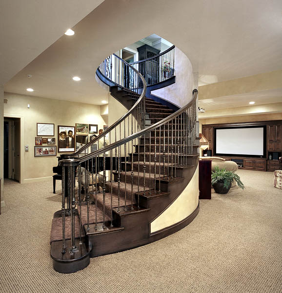 Lower Level Stairs
