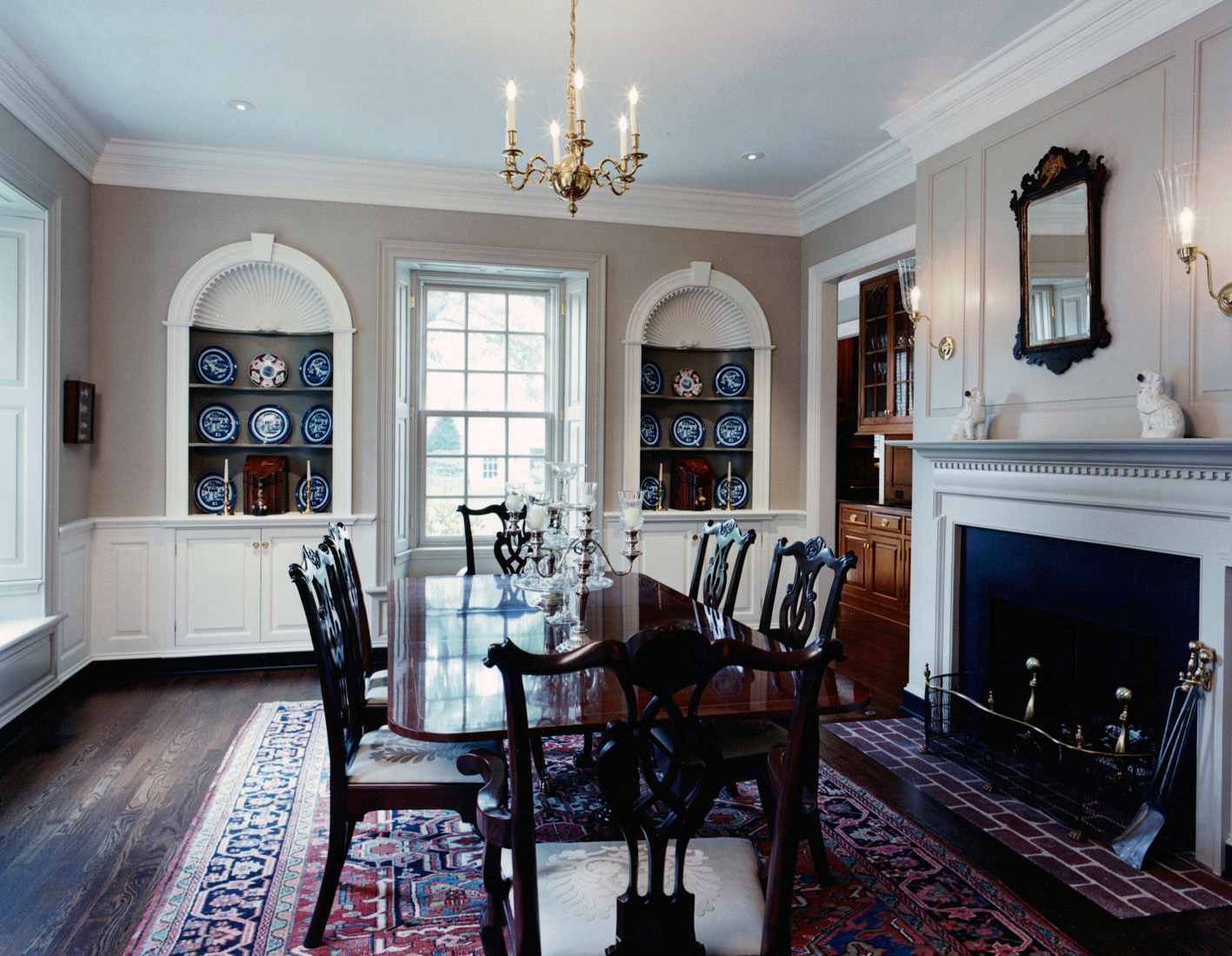 williamsburg colonial | robert montgomery homes | luxury home
