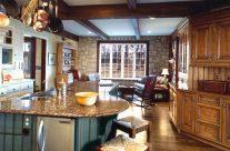Kitchen Hearth Room