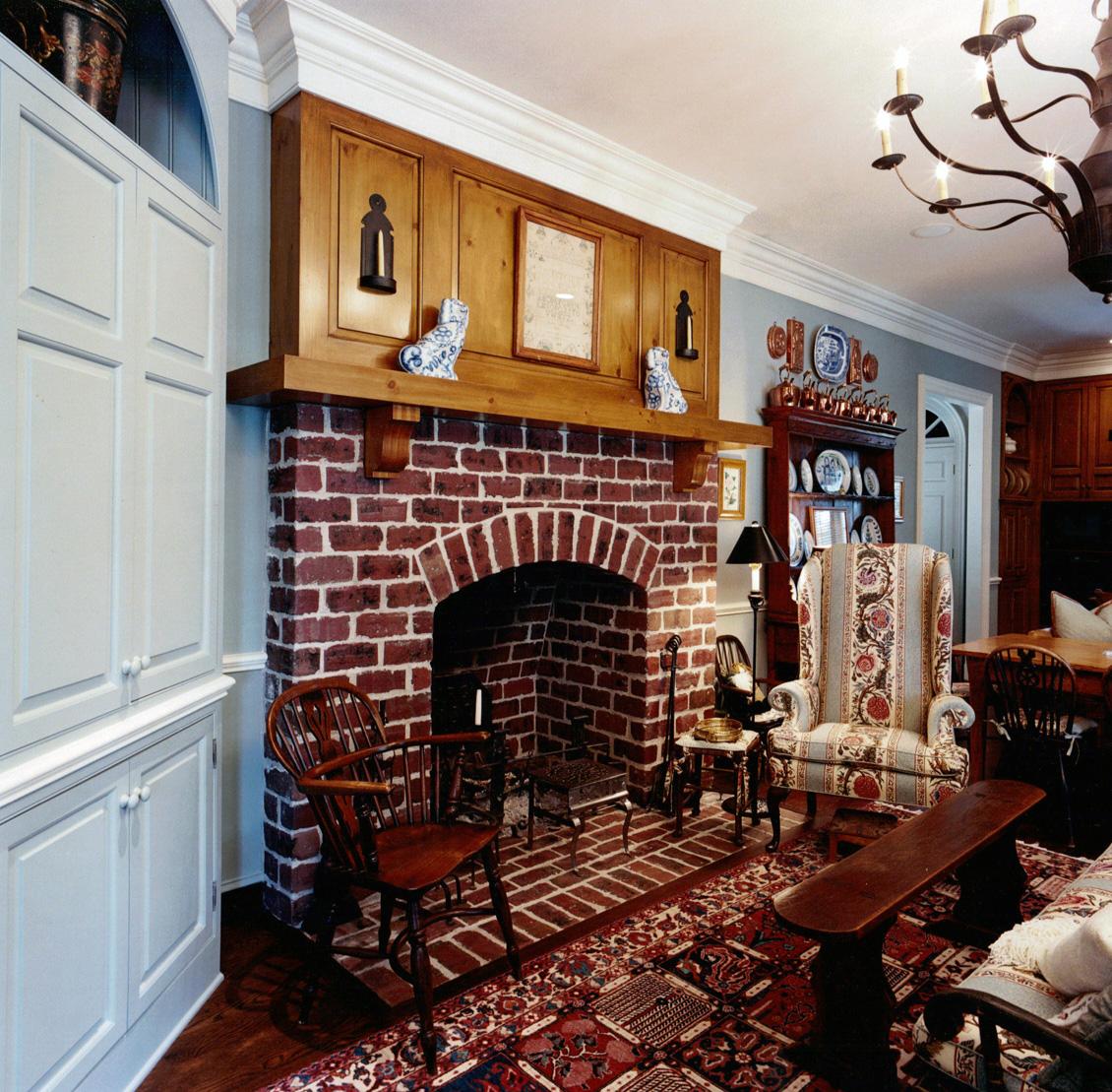 Hearth Room: Robert Montgomery Homes